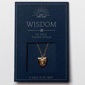 WISDOM NECKLACE 14k gold